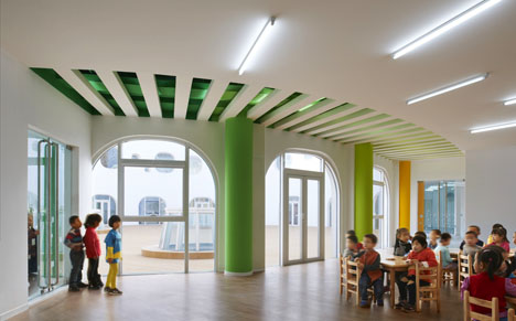 Loop Kindergarten in Tianjin by SAKO Architects