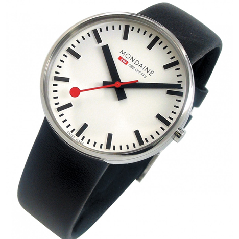 Evo Giant by Mondaine is now available at Dezeen Watch Store