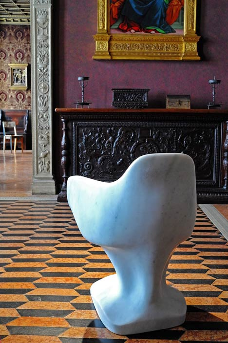 Bust Chair by Tomas Libertiny for Rossana Orlandi