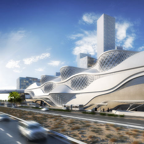 Zaha Hadid wins competition for Saudi Arabian metro station