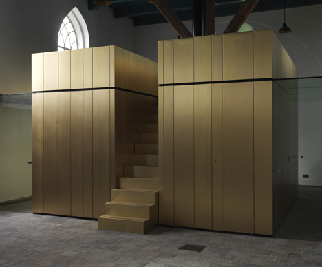Leegkerk Church by AWG Architecten
