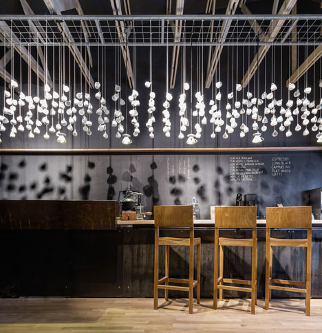 Origo Coffee Shop by Lama Architectura