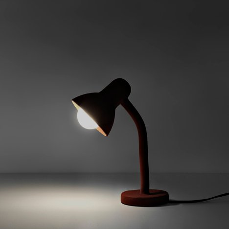 Rubber Lamp by Thomas Schnur