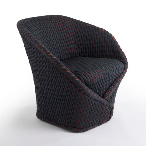 "Benjamin Hubert and Moroso ""share a passion for innovations in textile"""