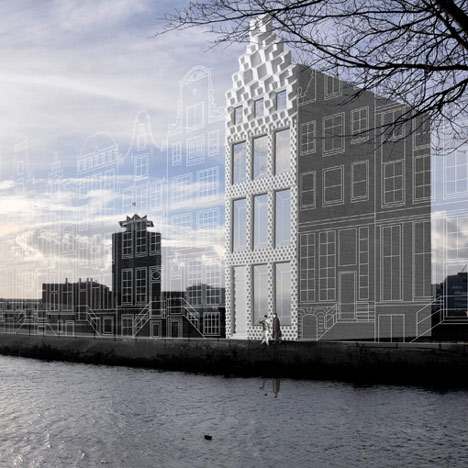 3D printed canal house by DUS Architects