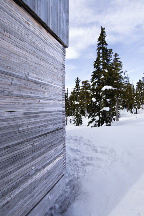Alpine Cabin by Scott & Scott Architects