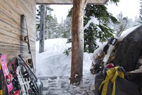 Alpine Cabin by Scott & Scott Architects