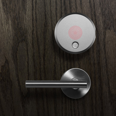 August Smart Lock by Yves Behar