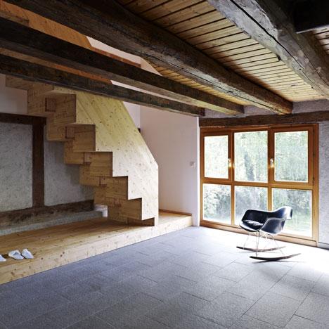 Création de 4 chambres d'hôtes by Loïc Picquet Architecte