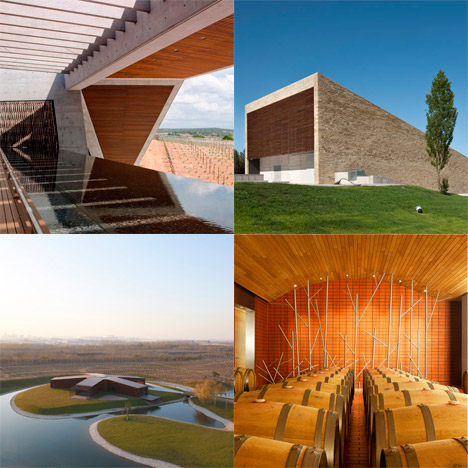 Dezeen archive: wineries