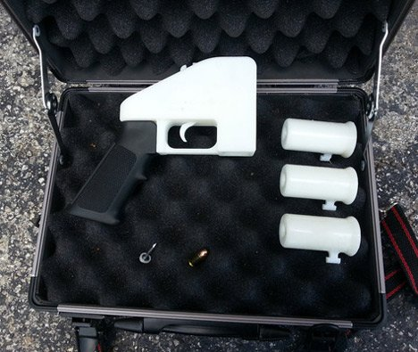 First 3D-printed gun test fired