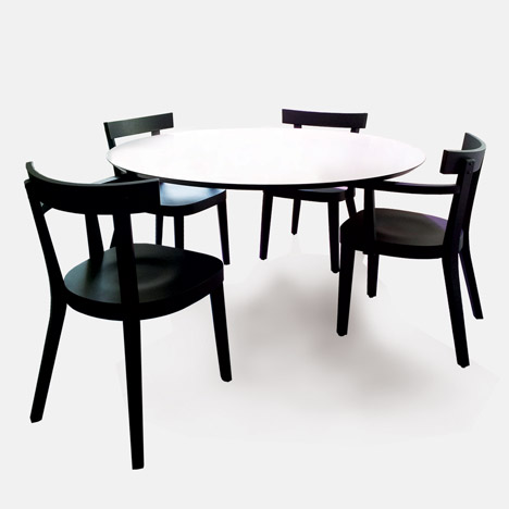 Floating table by Ingo Maurer for Established & Sons