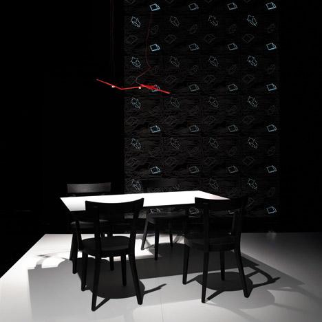 Floating table by Ingo Maurer for Established & Sons