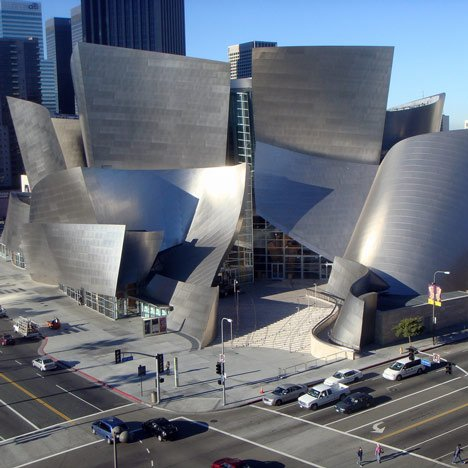 Frank Gehry Disney Hall, photo by Kansas Sebastian