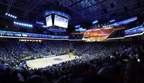 Golden State Warriors arena by Snøhetta and AECOM