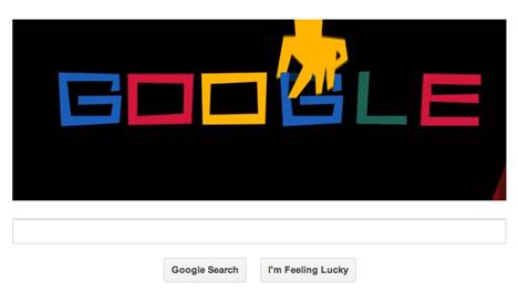 Google doodle celebrates Saul Bass