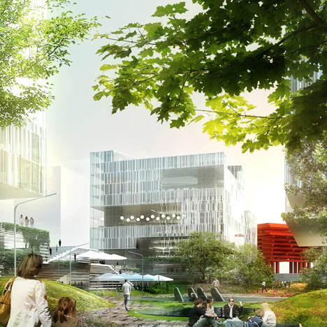 Schmidt Hammer Lassen breaks ground on former Shanghai Expo site