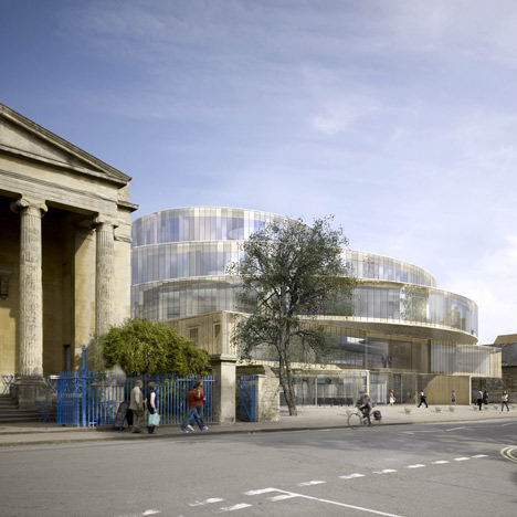 Herzog & de Meuron win planning permission for Oxford university building