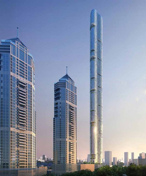 Imperial Tower by Adrian Smith + Gordon Gill Architecture