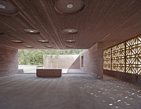 Islamic Cemetery by Bernardo Bader Architects