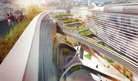 JDS Architects reveals green office complex for Istanbul