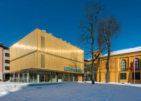 Lenbachhaus museum by Foster + Partners