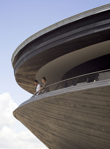 Mary Rose Museum by Wilkinson Eyre Architects
