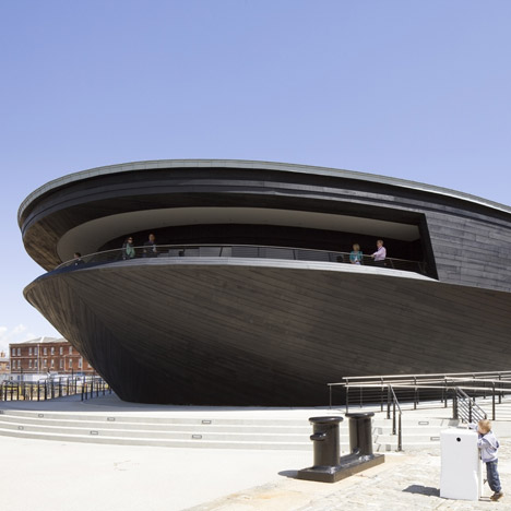 Mary Rose Museum by Wilkinson Eyre and Pr