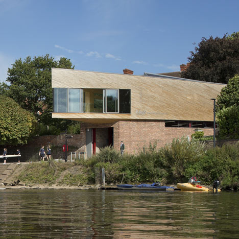 dezeen_Michael Baker Boathouse by Associated Architects 1