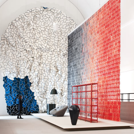 Momentané exhibition by Ronan and Erwan Bouroullec