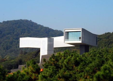 Nanjing Sifang Art Museum by Steven Holl Architects