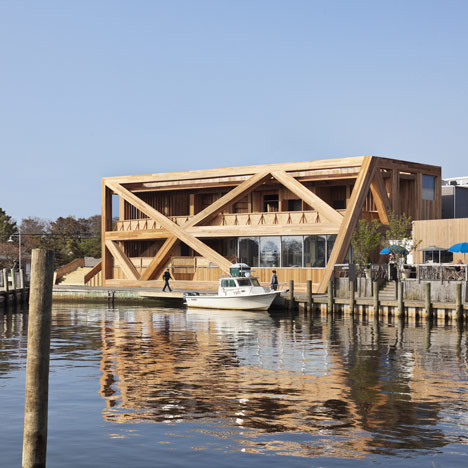 dezeen_New Fire Island Pines Pavilion by HWKN_1sq