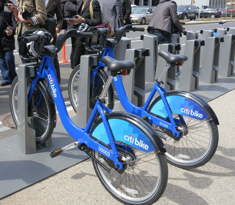 New York launches bike-share scheme, photo by Planetgordoncom