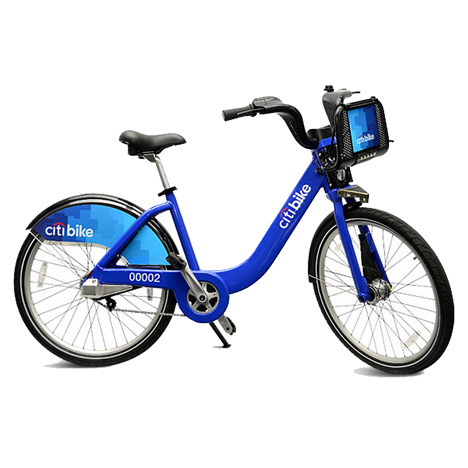 New York launches bike-share scheme