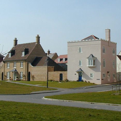 Poundbury in Dorset, photo by MarilynJane