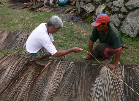 Preservation of the Mbaru Niang by Rumah Asuh