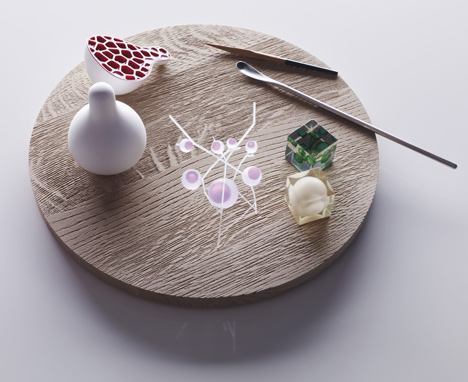 Print Shift 3D-printed food