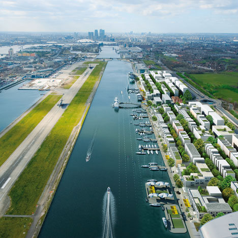 Farrells develops £1 billion Chinese business hub in London docklands