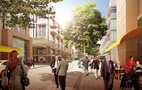 Royal Albert Dock masterplan by Farrells