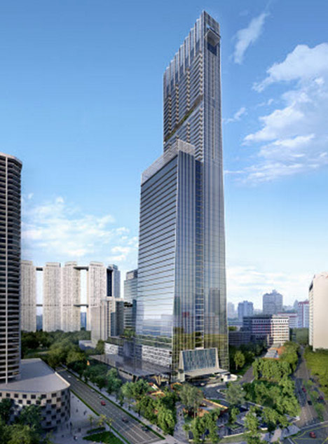 SOM to build Singapore's tallest tower