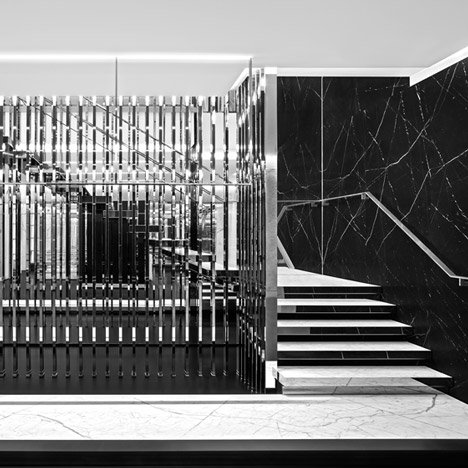 Saint Laurent Montaigne flagship