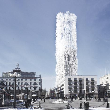 Strawscraper by Belatchew Arkitekter