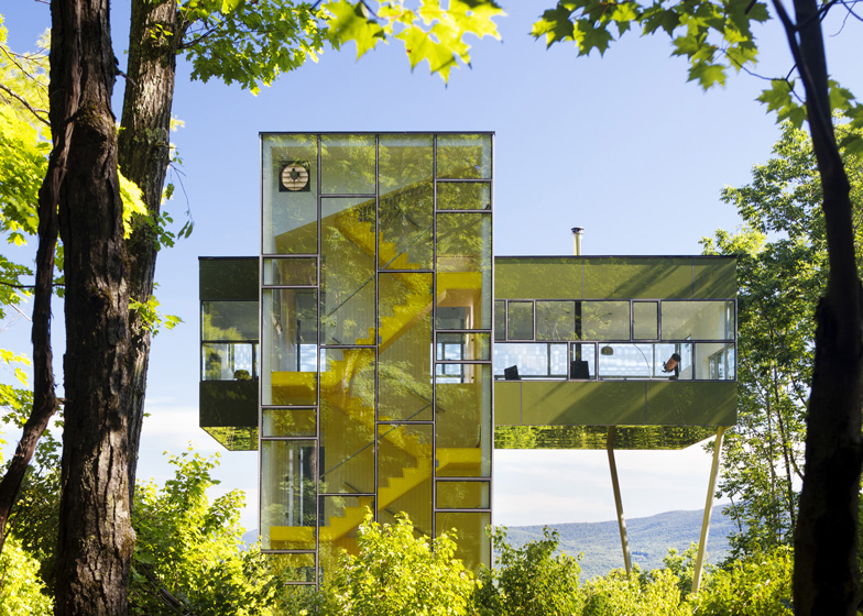 Attractive Tower House By Gluck+