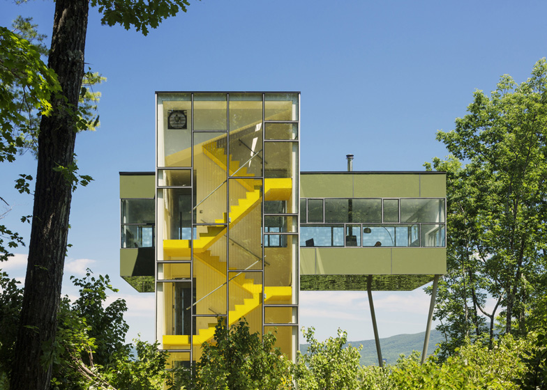 Elegant Tower House By Gluck+
