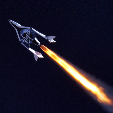 Virgin Galactic passenger spacecraft completes first rocket-powered flight