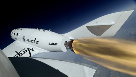 Virgin Galactic test flight
