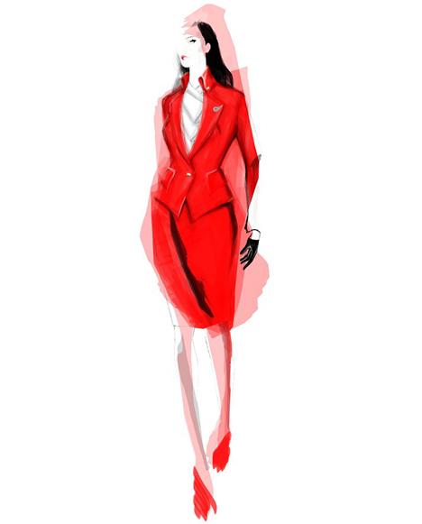 Vivienne Westwood designs Virgin Atlantic uniforms