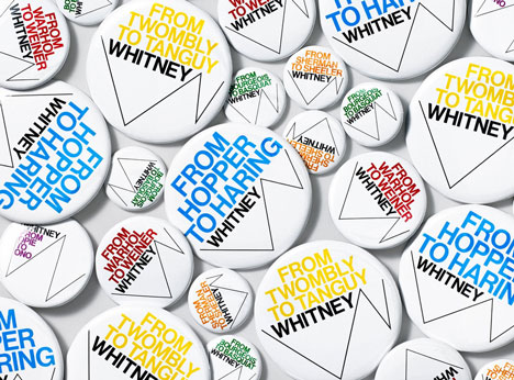 Whitney Graphic Identity by Experimental Jetset