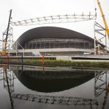 Wings removed from Zaha Hadid's Olympic Aquatics Centre
