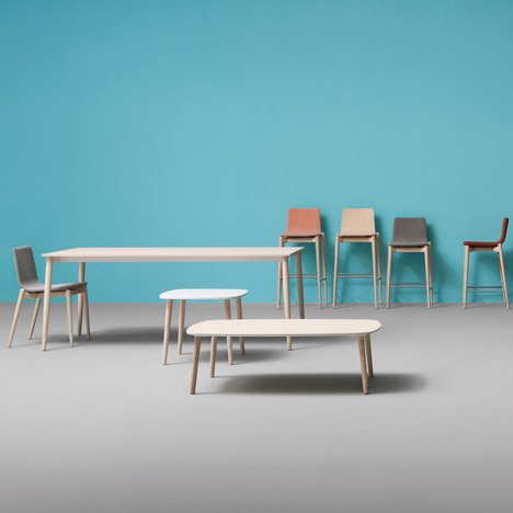 Wooden furniture by Pedrali